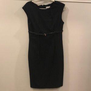 Calvin Klein Office Dress with Belt size 6